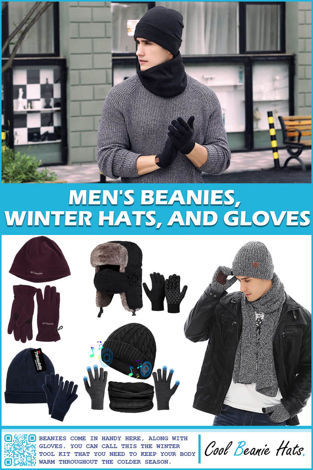 Men's Beanies, Winter Hats, and Gloves