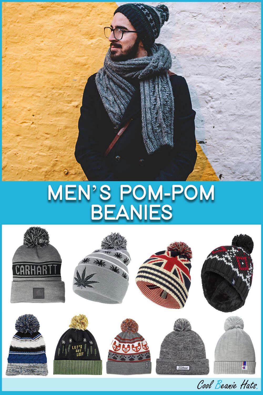 Men's Pom-Pom Beanies