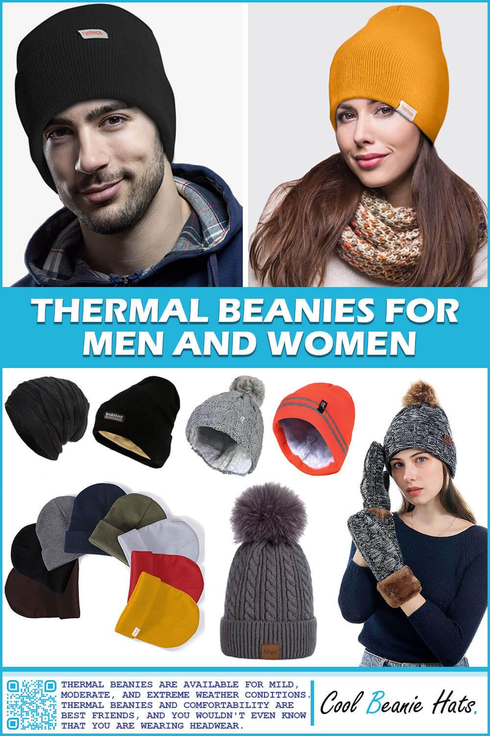 Thermal Beanies For Men and Women