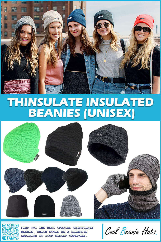 Thinsulate Insulated Beanies