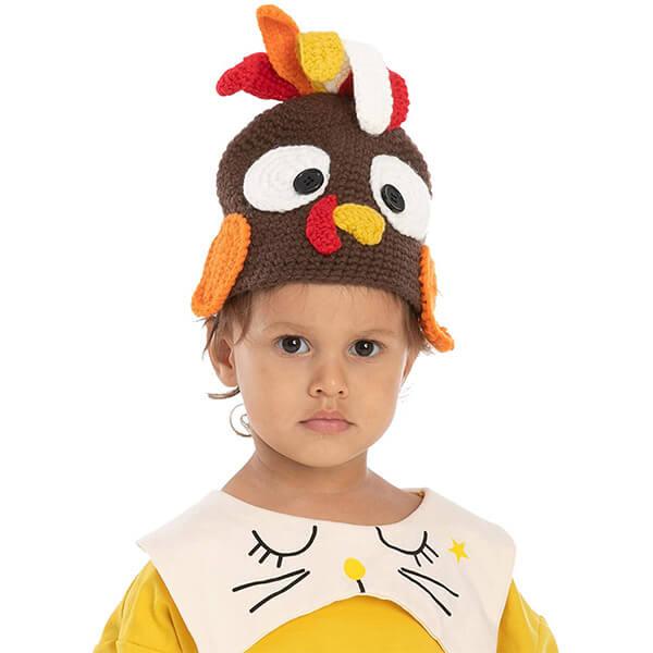 Thanksgiving Turkey Beanie Hat For Babies
