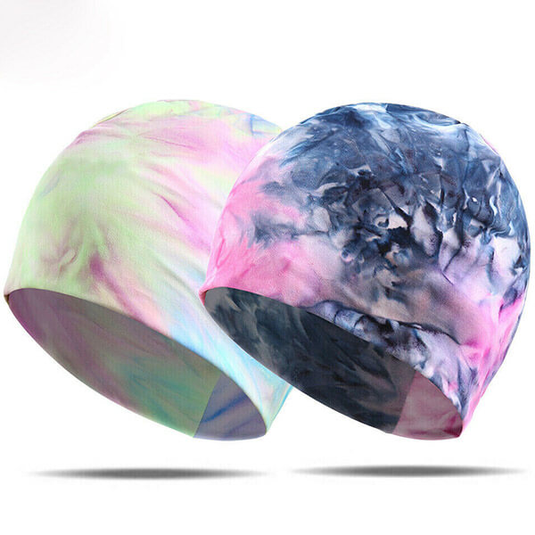 Winter Stretchable Ear Warmer Tie Dye Beanie
