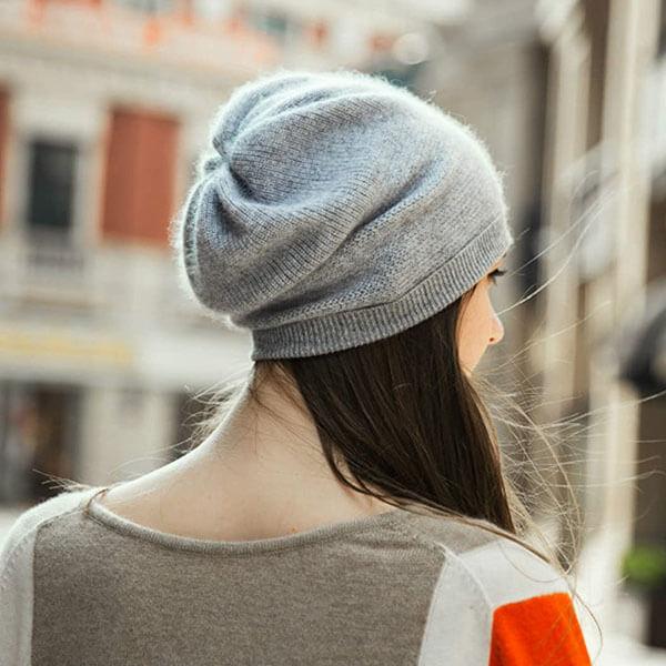 Oversized Women Beanie Hat