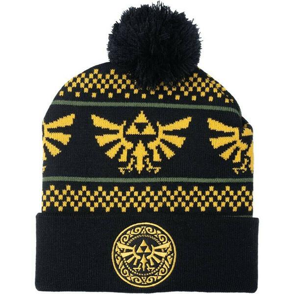 Wing crest Pom Beanie Winter Hat