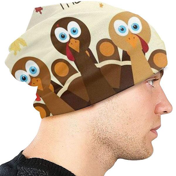Comfortable Thanksgiving Beanie Hat