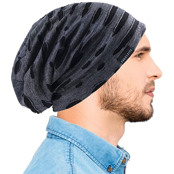 Long Slouchy Thin Beanie Hats For Summer