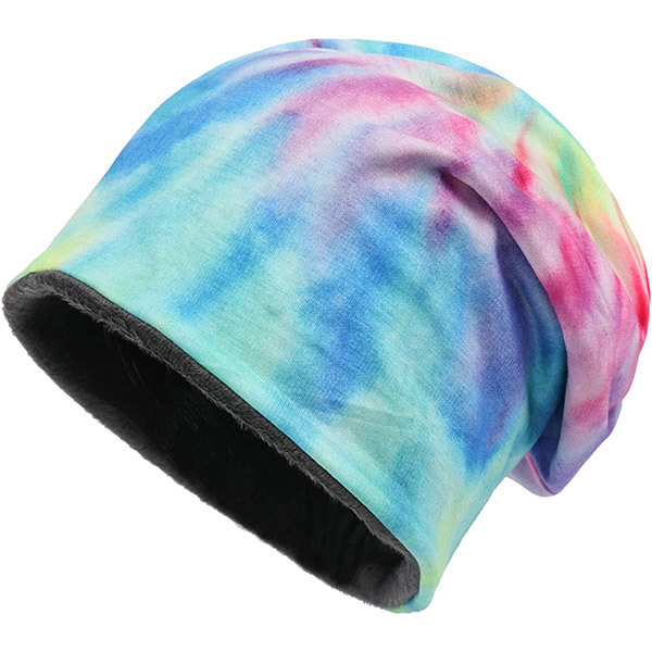 Super Warm And Soft Slouchy Tie Dye Beanie