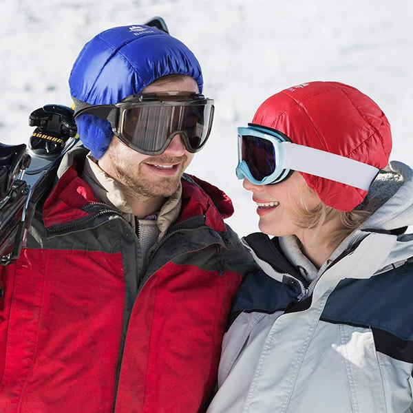 Ultralight Fleece Lined Winter Beanie For Skiing
