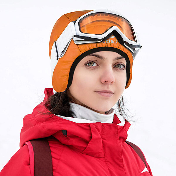 Down Filled Waterproof And Windproof Winter Beanie