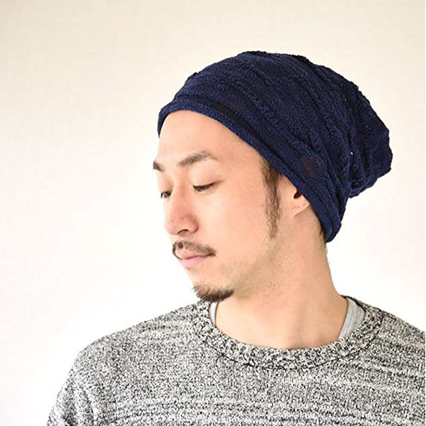 Lightweight And Slouchy Cooling Beanie For Summer