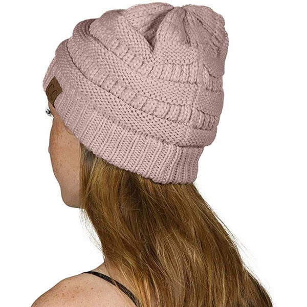 Thick Soft Knit Beanie Cap