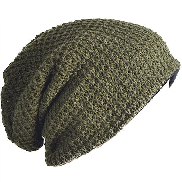 Long Oversized Slouchy Knit Cap Summer Beanie