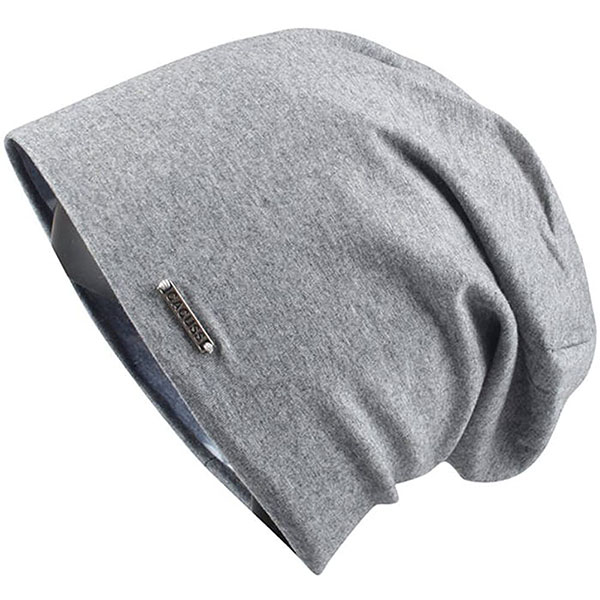 Cotton Baggy Skull Cap Style Thin Beanie
