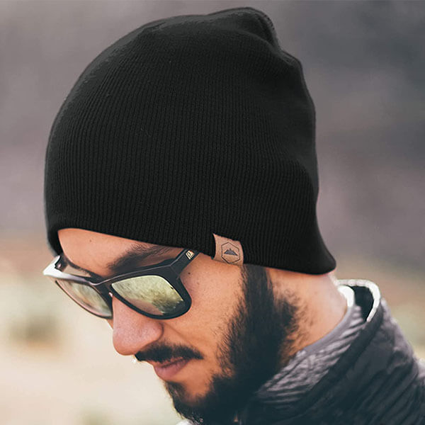 Stretchy Winter Toboggan Cap Style Beanie