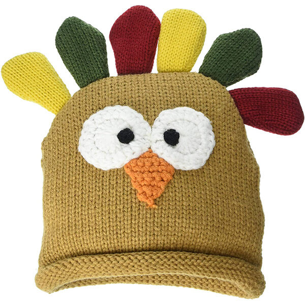 Knit Turkey Hat For Babies
