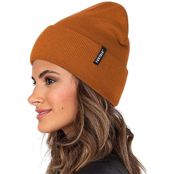 Soft And Warm Tall Winter Beanie