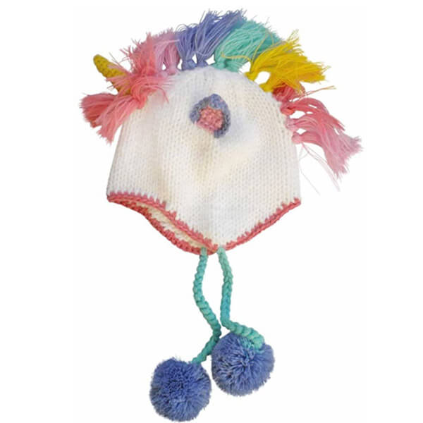 Adorable Unicorn Beanie Hat For Toddlers