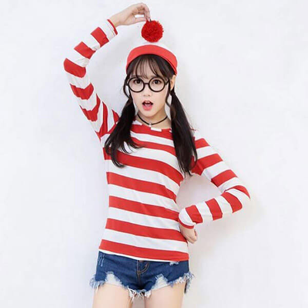 Knitted Stretchable Waldo Beanie Hat
