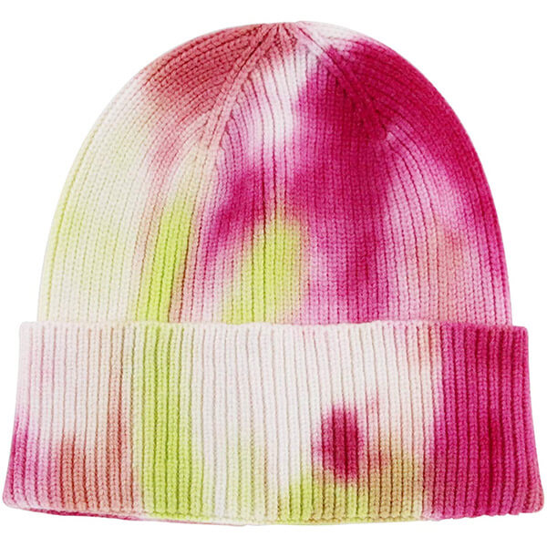 Warm And Soft Tie Dye Beanie Hat For Winter