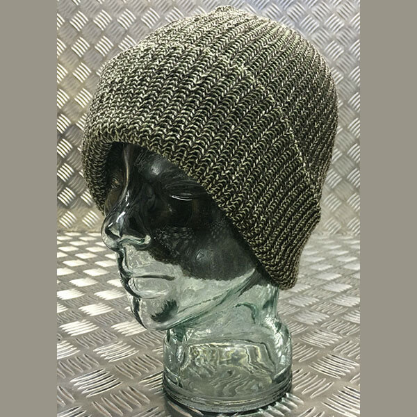Green Camouflage Tight Winter Watch Cap Beanie