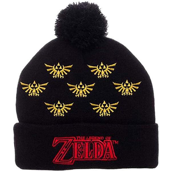 Legend of Zelda Cuff Pom Beanie