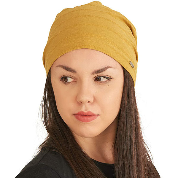 Lightweight Knitted Slouchy Beanie For Summer