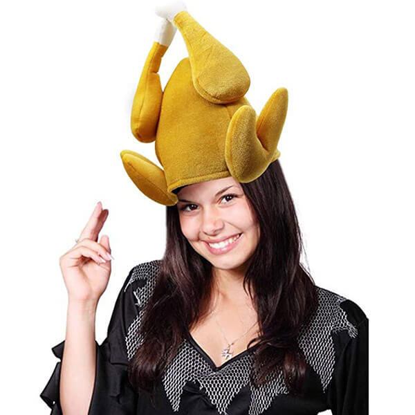 Roasted Turkey Hat Set For Thanksgiving