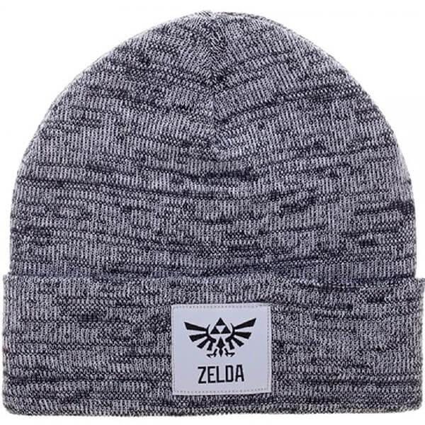 Zelda Triforce Logo Marled Cuff Beanie