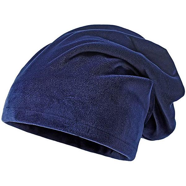 Warm Knit Thick Velvet Beanie Hat For Women