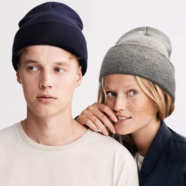 Breathable Slouchy Windproof Rib Knit Beanie