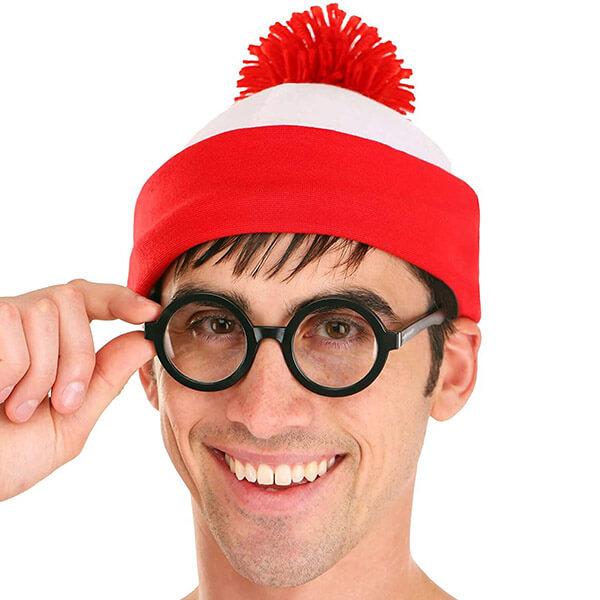 Where's Waldo Beanie Shirt And Glasses Kit