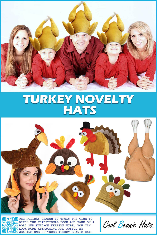 Turkey Novelty Beanies