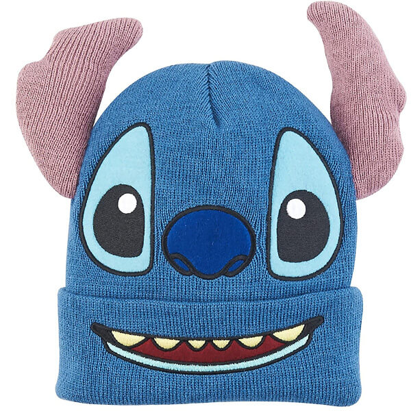 Big Face Concept Cuff Beanie with 3D Ears