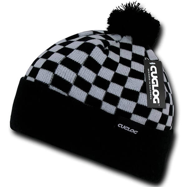 High Quality CUGLOG Checker Beanie