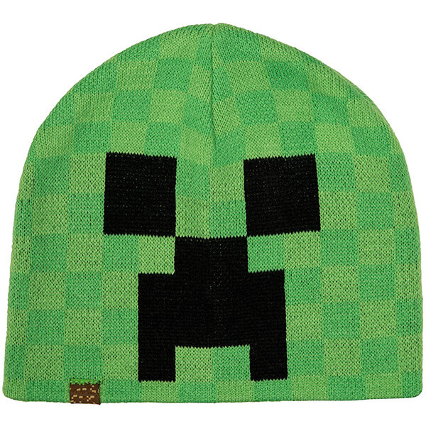 Popular Cuffless Long Durable Minecraft Beanie