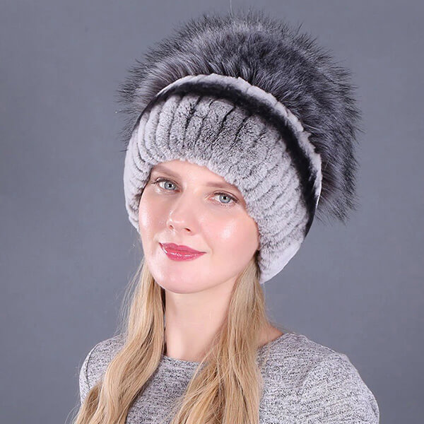 Stunning Real Fur Beanie for Fur Lovers