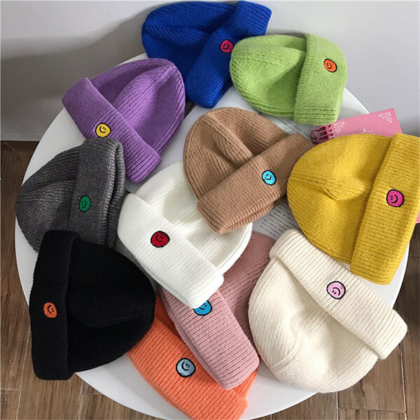 Basic style beanie hats for both genders