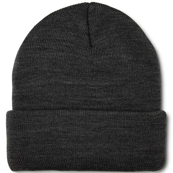 Knitted Solid Coloured Cuffed Beanie for Men