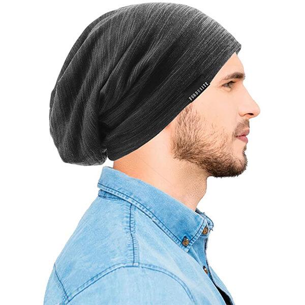 Oversized slouchy beanie skull cap