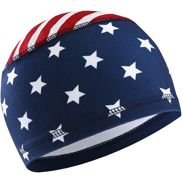 USA motorcycle beanie for everyone