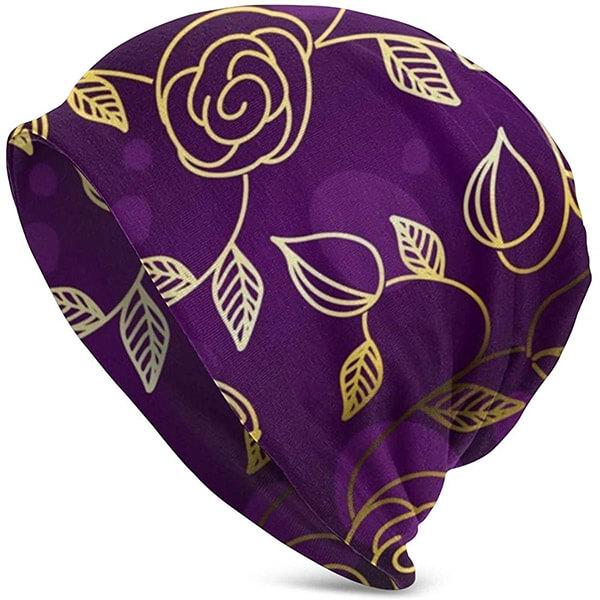 Appealing, purplish tinge beanie for you