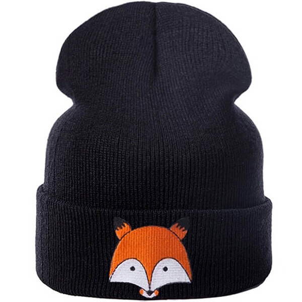 Skin Friendly Wolf Beanie for Toddlers