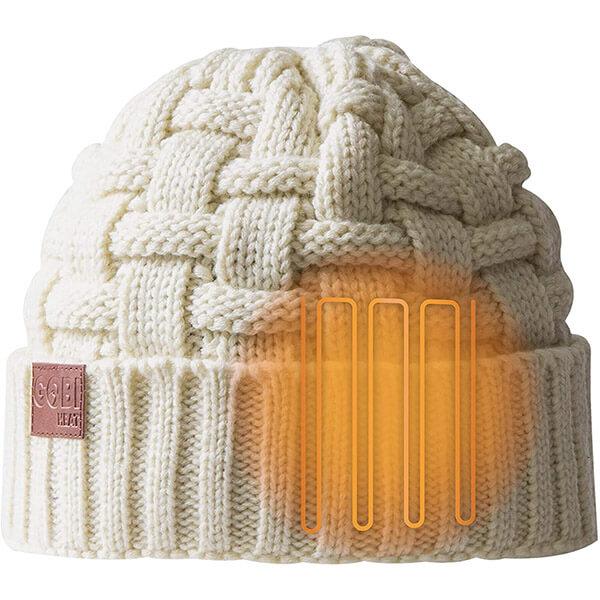 Fashion-forward knit beanie especially for women