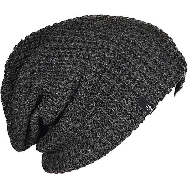 Oversized beanie knit cap