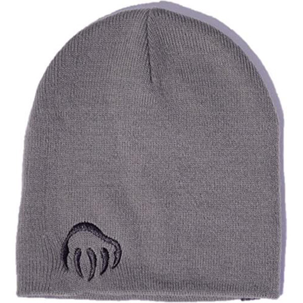 Supercool Paw Embroidery Beanie for Regular Usage