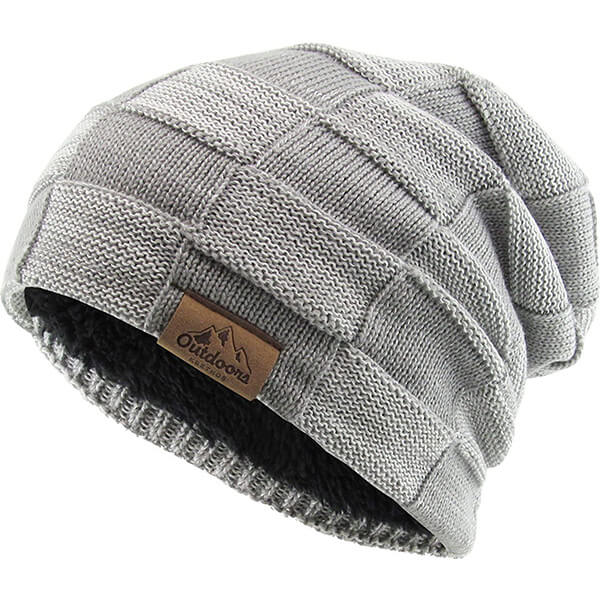 Unique, basic style cuffless beanie for all activities