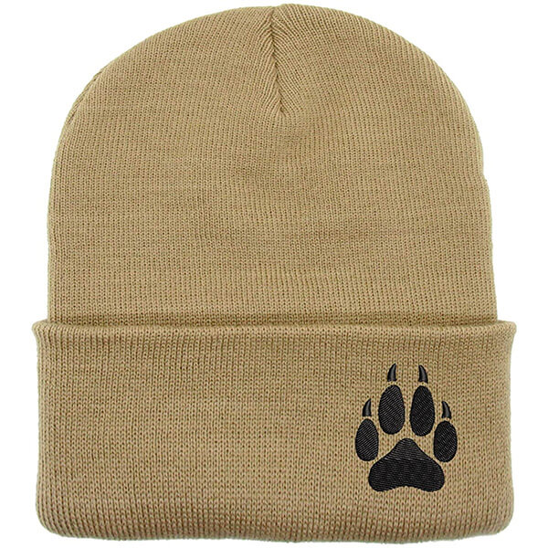 Up to Date Fashionable Paw Beanies for Teens