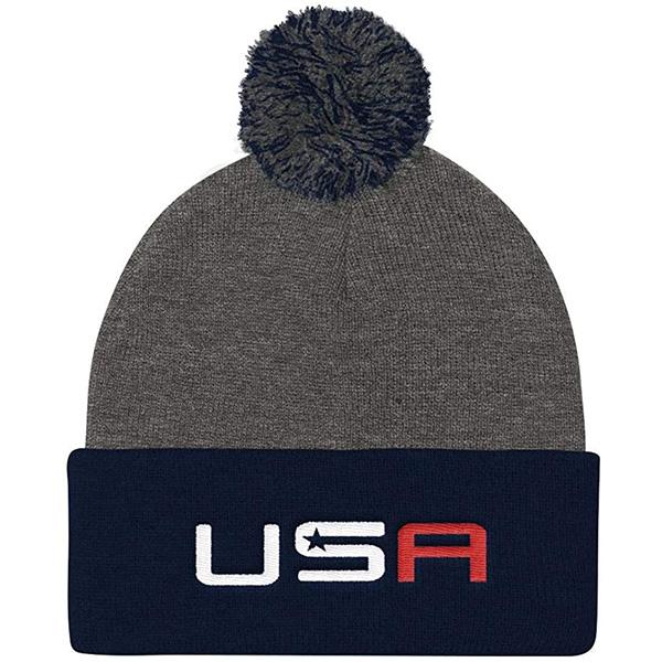 Warm USA golf beanie hat for The Next Cheer