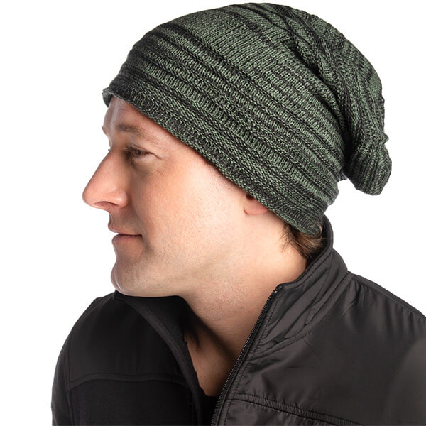 Cuffless slouchy beanies at affordable prices
