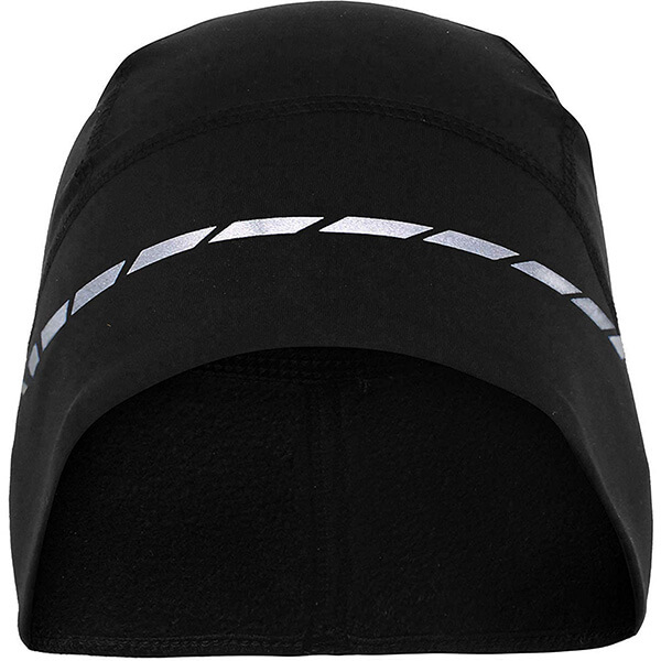 Safety reflective motorcycle beanie